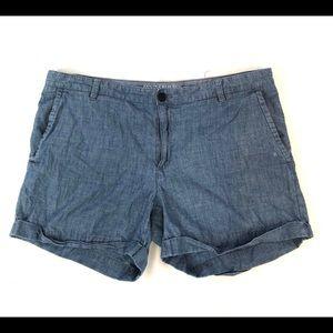 Banana Republic Shorts Blue Chino Shorts